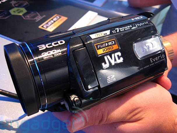 Hands-on with the JVC GZ-HD3 camcorder