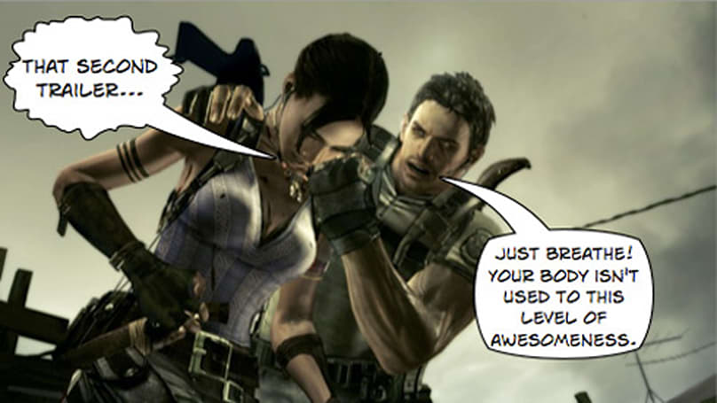 TGS 08: Watch these Resident Evil 5 trailers