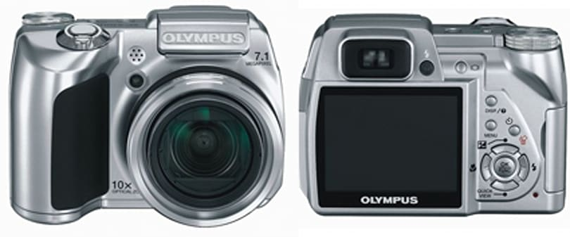 The seven megapixel Olympus SP-510UZ