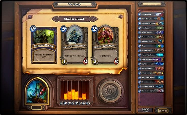 Beginner's guide to card picks in Hearthstone Arena