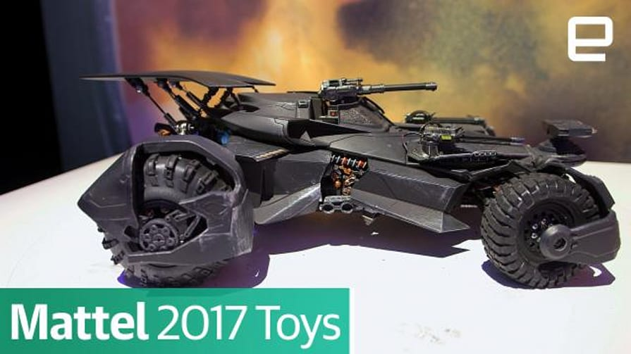 Mattel 2017 Toys : First Look
