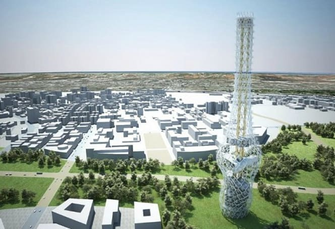Inhabitat's Week in Green: flexible OLEDs, wind-energy skyscrapers and 3D-printing spider robots