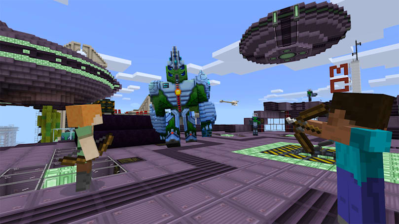 'Minecraft' October updates are big deals for tweakers and VR