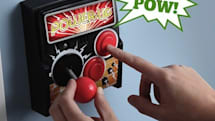 ThinkGeek's Power-Up brings the arcade controls to your room's light switch