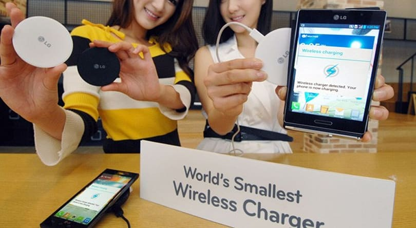 LG unveils world's smallest wireless charger, preps it for global availability