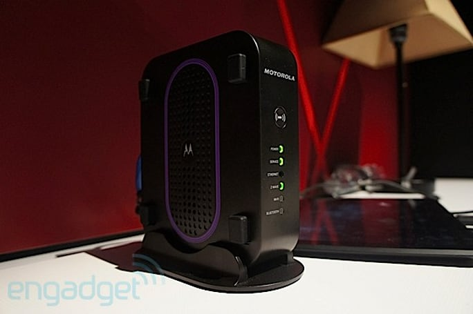 Motorola Connected Home Gateway tour (video)