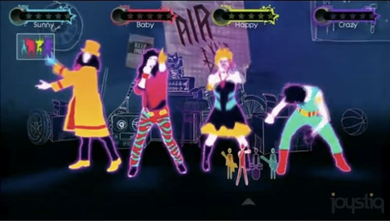 See Just Dance 3's 'Just Create' and four-player mode
