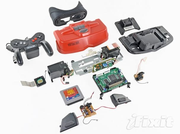 iFixit celebrates Friday with teardown of Virtual Boy, the greatest game console man has ever known