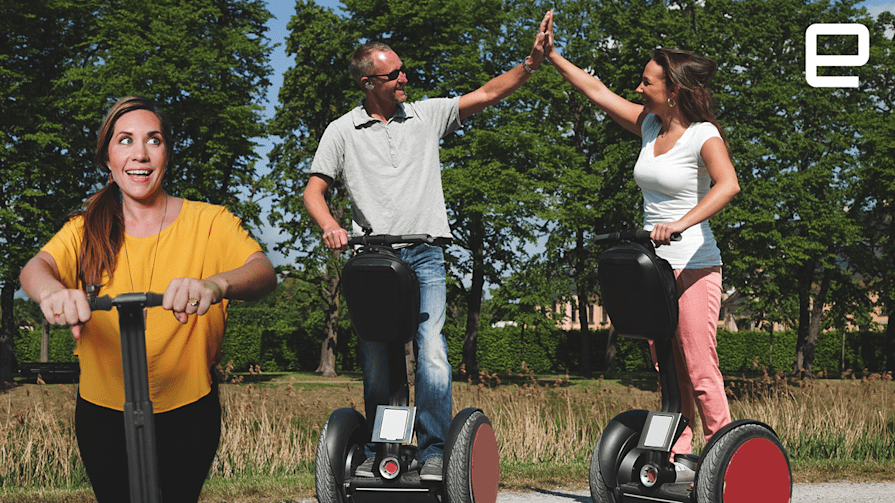 ICYMI: Segway's plan B and flexible concrete