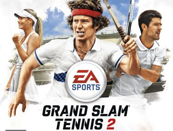 Three pros score love on Grand Slam Tennis 2 cover