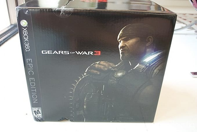 Gears of War 3: Epic Edition, epic unboxing gallery