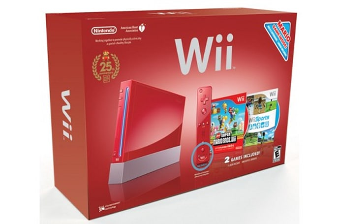 Red Wii and DSi XL bundles, Wii Remote Plus, and FlingSmash in North America Nov. 7