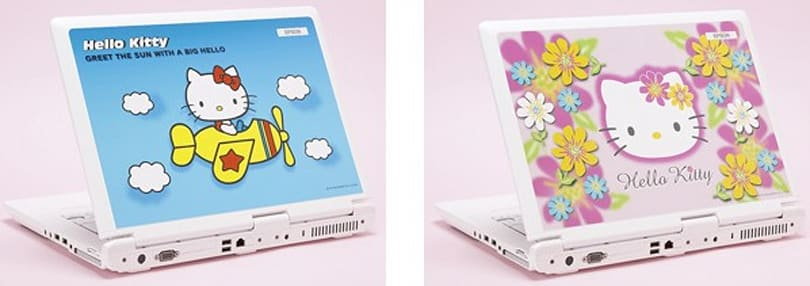 Epson, Sanrio team up for two more Hello Kitty laptop designs
