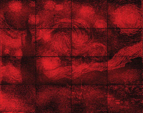 Caltech scientists make Van Gogh painting out of DNA origami
