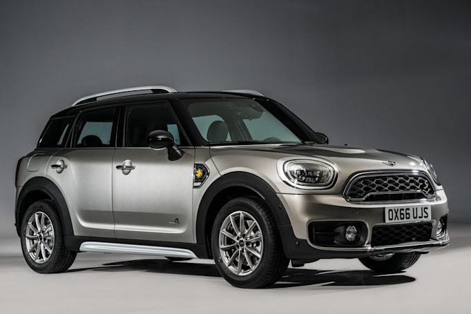 Mini unveils its first hybrid vehicle