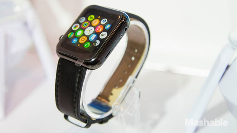 You can totally buy a fake Apple Watch at CES