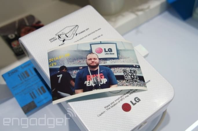 LG's Pocket Photo 2 can handle your selfie prints in 60 seconds (hands-on)