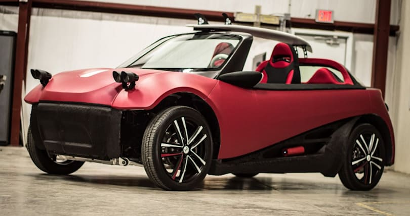 Local Motors could melt your 3D-printed car to create a new one