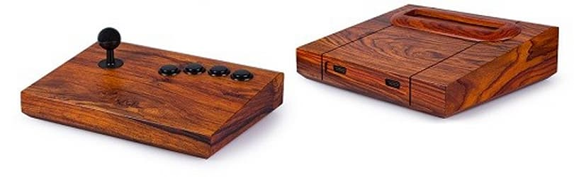 Custom wood Neo Geos are so pretty they might be worth the price