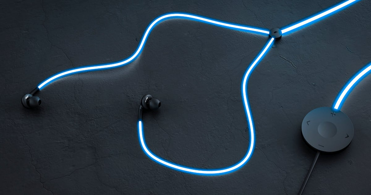 How To Get Lyft Amp >> 'Tron'-like Glow headphones pulse to the music and your heart