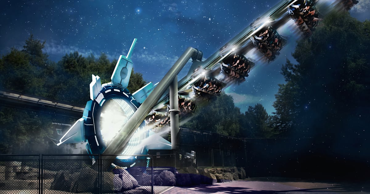 Alton Towers To Open Galactica Vr Roller Coaster In April