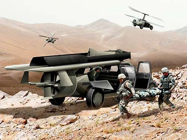 Flying Humvee a step closer to reality, still seems like a really bad idea