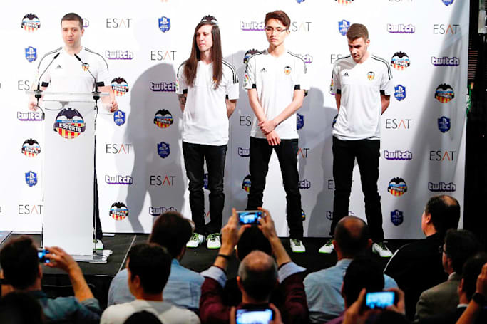 Valencia CF is the next big soccer club to start an eSports team