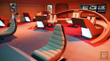 Become a Starfleet cadet at the Intrepid's new Star Trek exhibit