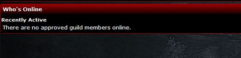 Breakfast Topic: Getting guildies to the website