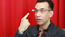 Saturday Night Live's Fred Armisen tries out Google Glass for real (video)