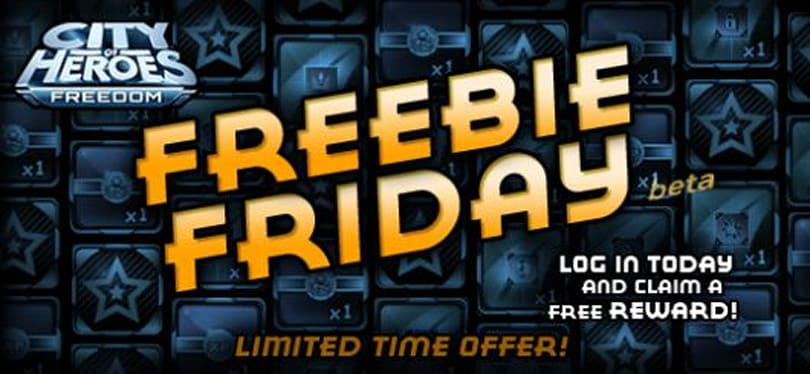 City of Heroes announces Paragon Market Freebie Fridays