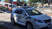 Selbstfahrendes Google-Auto in schweren Unfall verwickelt