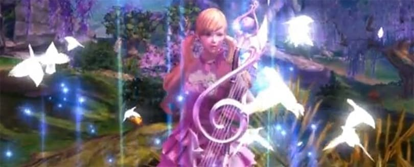 Aion's Bard class kills them softly in new video