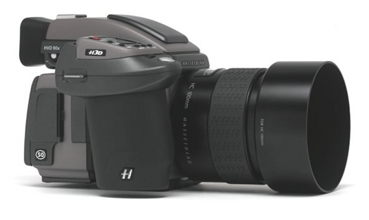 Hasselblad introduces the 50 megapixel H3DII-50