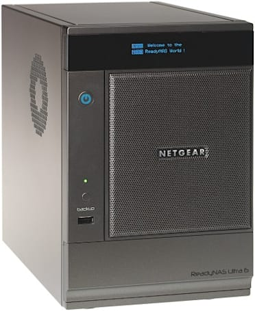 Netgear's ReadyNAS Ultra 4 and Ultra 6 stream to TiVo, mobile, and DLNA-certified devices