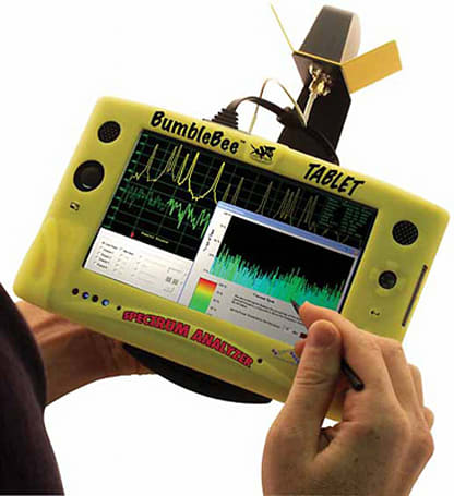 BVS kicks out BumbleBee UMPC spectrum analyzer