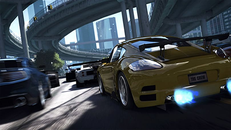 Gone in 180 seconds - Watch The Crew's CGI launch trailer