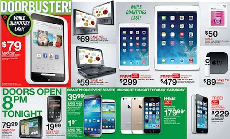 Target previews Black Friday promotion with great deals on iPads and iPhones