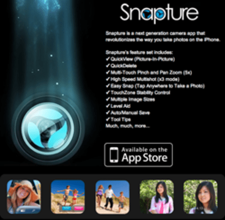 First Look: Snapture comes to the App Store