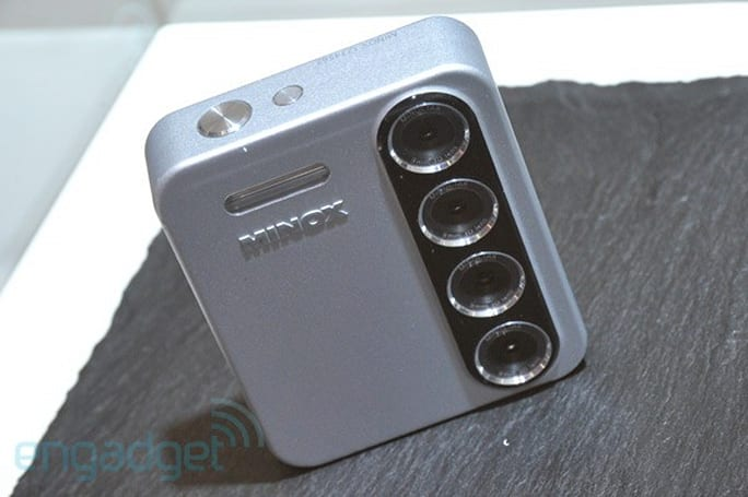 Minox PX3D concept camera eyes-on at Photokina 2010