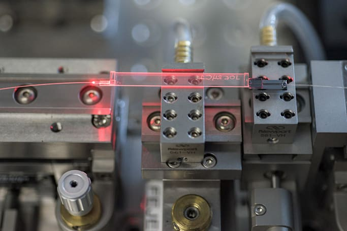 Scientists use 'spooky action' to mail electron messages a mile