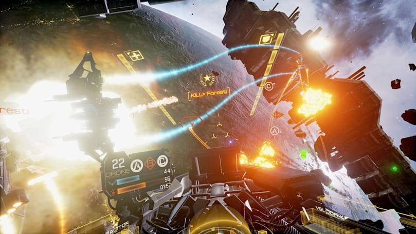 'EVE: Valkyrie' blasts onto HTC Vive this month