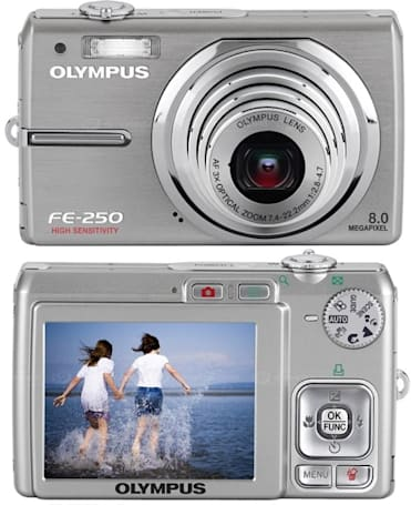 Olympus' low-enders: FE-210, FE-230, FE-240, and FE-250 with ridiculous ISO 10,000