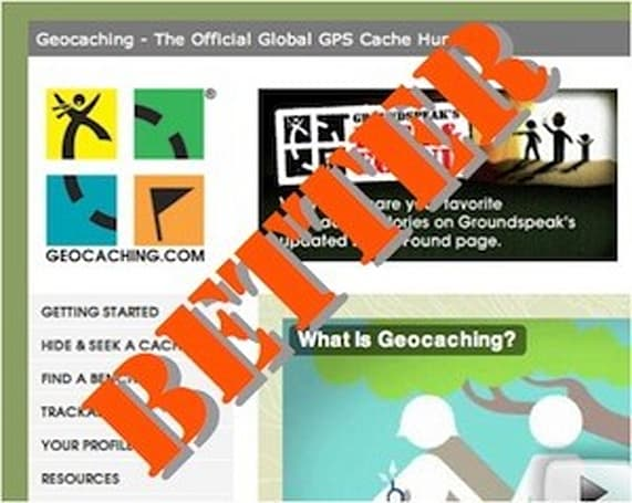 Safari extension highlight: Better Geocaching