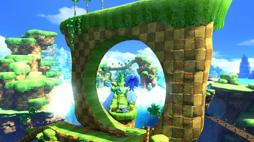 Sonic Generations will include the original Sonic The Hedgehog (if you can unlock it)