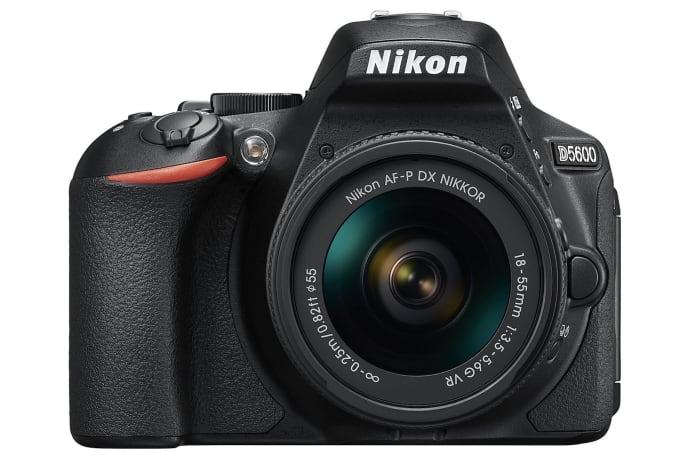 Nikon's D5600 midrange DSLR hits the US this month for $800