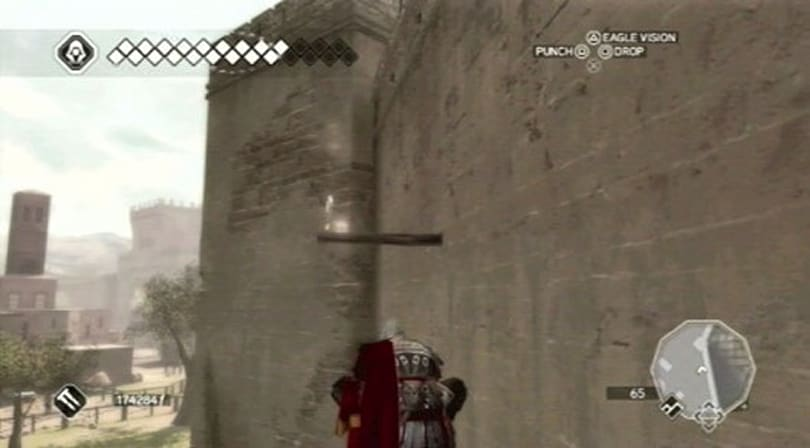 Assassin's Creed Brotherhood trophies spoil mission locations