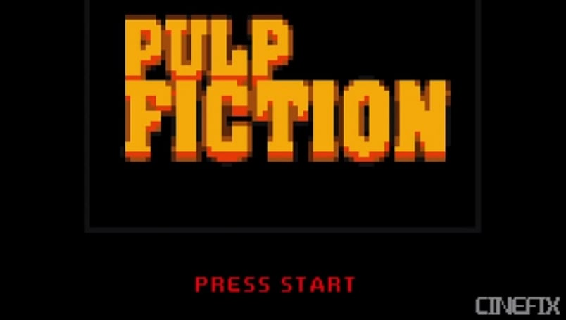 Pulp Fiction looks like a pretty #%&@ good arcade game