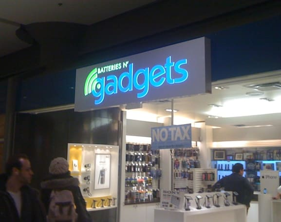 n'Gadgets store has us pondering a name change, new line of business