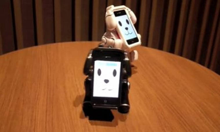 Japanese robot pet powered by iPhone